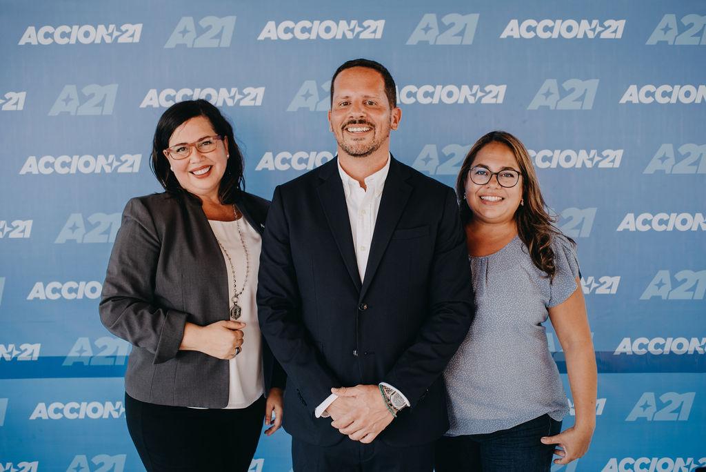 Lansamento oficial di campaña di partido nobo 'Accion21'